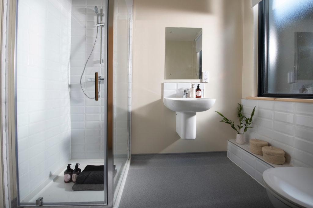 PLACE modular home bathroom